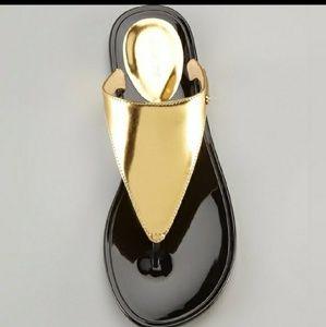 Rachel Zoe•Cami~ Gold sandals